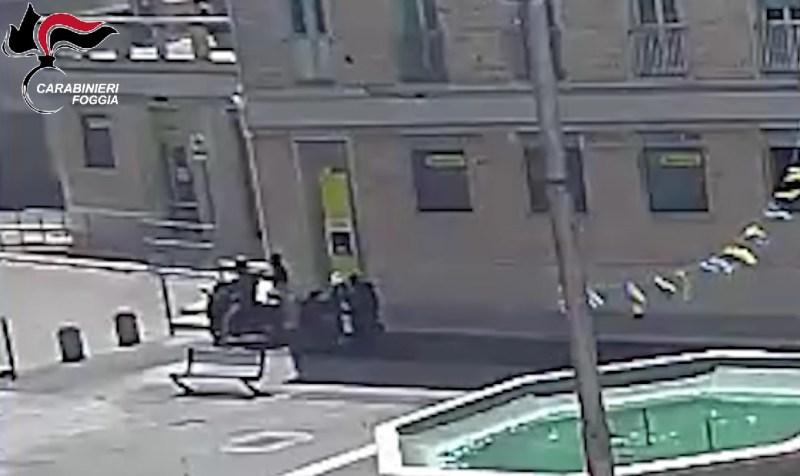 VIDEO | Assalto al Postamat di Cerignola, presi i malviventi
