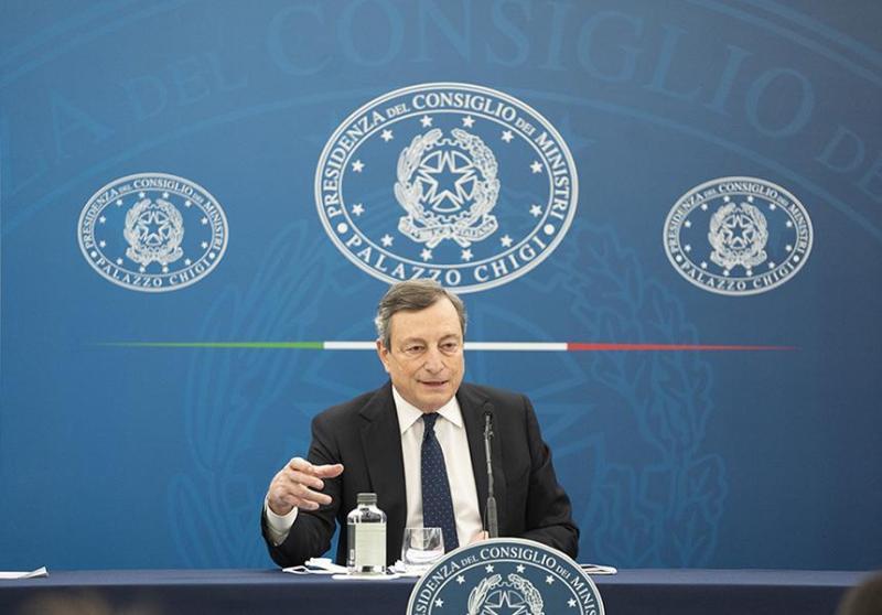 Nuove misure anti Covid: la conferenza stampa di Draghi in diretta