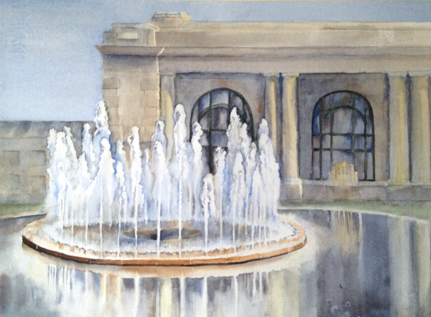 Save Kansas City Fountains, Bloch Fountain at Union Station