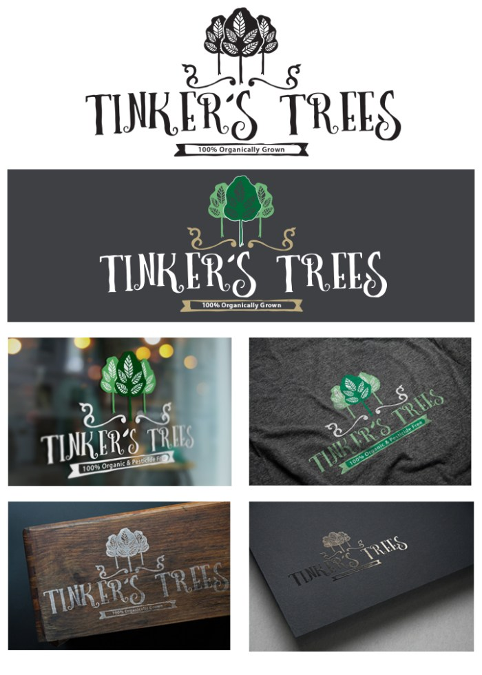 Tinker's Trees logo design