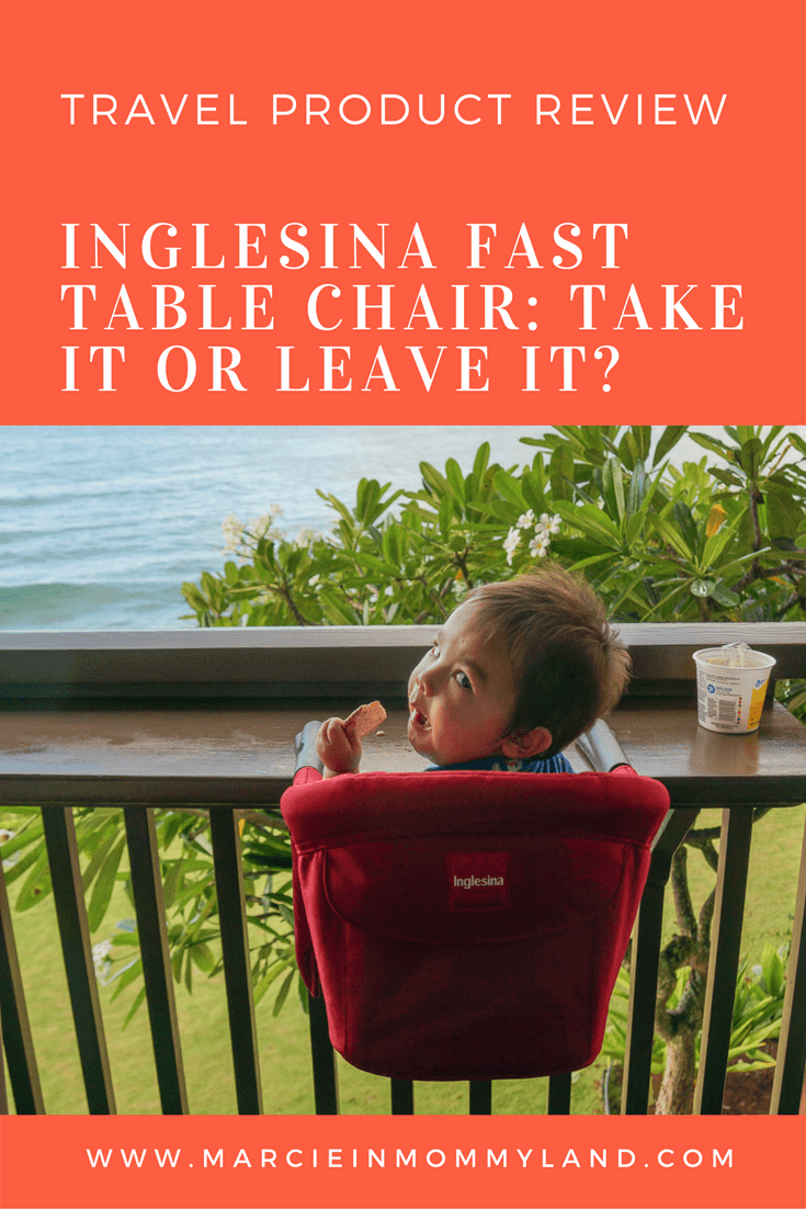 Inglesina Portable Travel High Chair Take it or Leave it