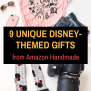 9 Unique Disney Gifts From Amazon Handmade Marcie In