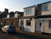 beauty salon converted to terraced house