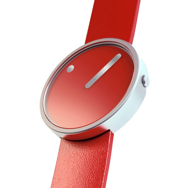 Rosendahl - Picto Watch Rood 35 milimeter