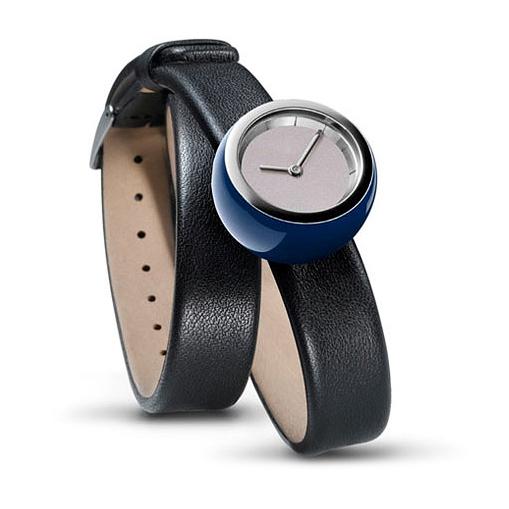 Tamawa horloge - TW27 met lange leren band