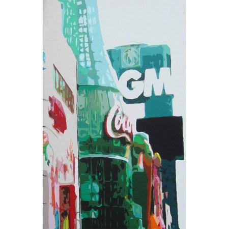 'Las Vegas', 100 x 160 cm