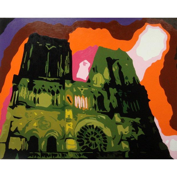 'Notre Dame', 120 x 100 cm