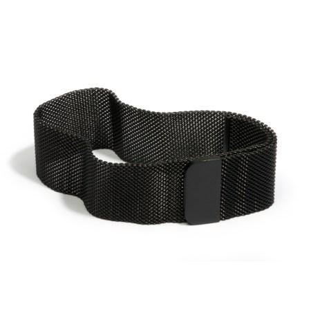 Armband 'Ciao bella', zwart
