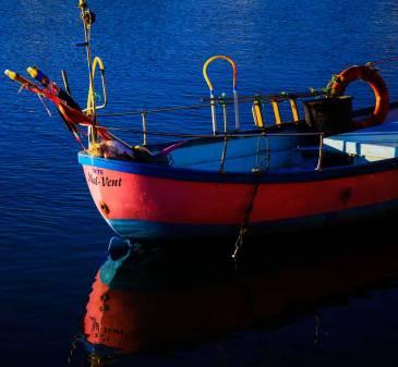 Image d'un bateau symbole de mon iténérance proféssionnelle