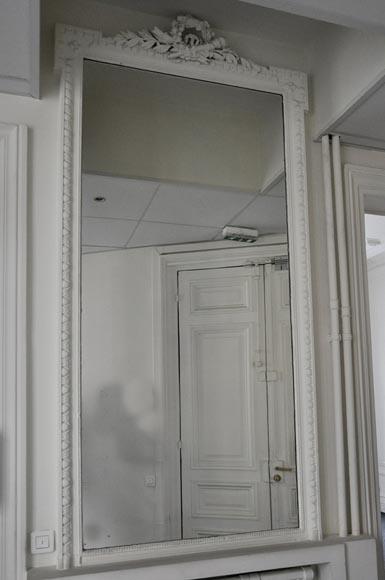 Trumeau Ancien De Style Louis XVI Dcor De Carquois Et