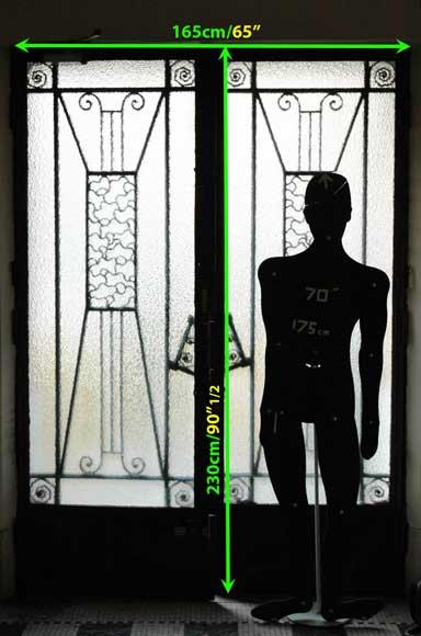 Porte dentre Art Deco  Portes