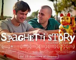 """Spaghetti Story, per il momento solo a Roma, al cinema l' Aquila; """"Dei Fabbri"""" di Trieste, """"Beltrade"""" di Milano, """"Mezzano"""" di Agrigento"""" e """"Lanterni"""" di Pisa."""