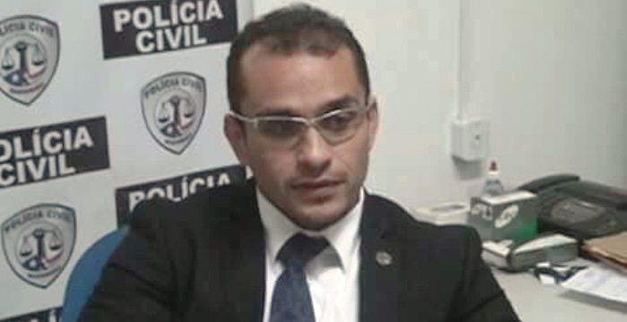 O delegado Alex Aragão: seu corpo foi encontrado em sua casa