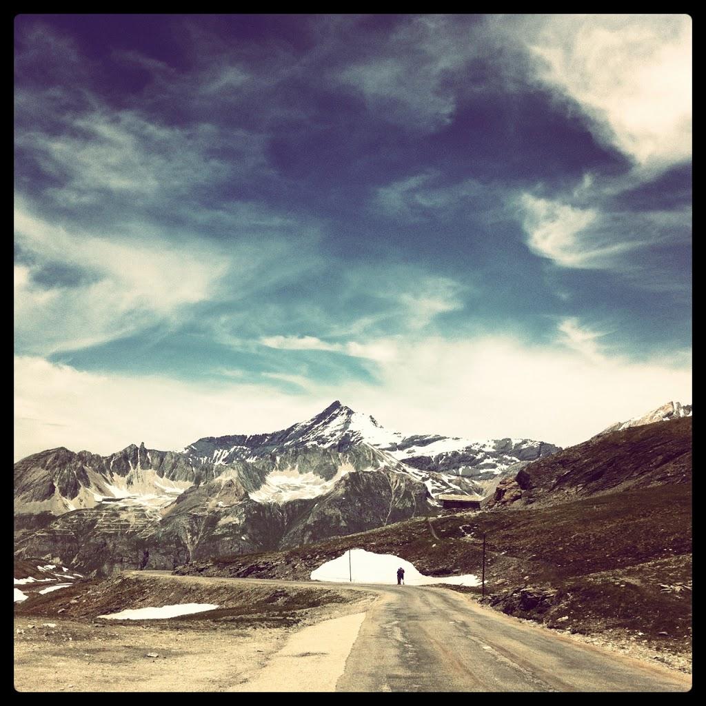 Col de l'Iseran direzione Val d'Isère