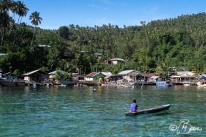 Villaggio di pescatori - Isola di Lembeh