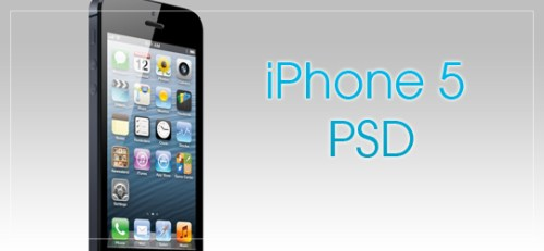 iPhone 5 PSD by Matt D. Smith
