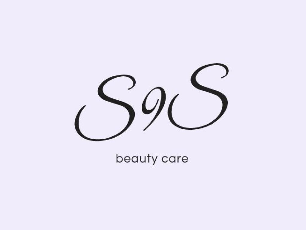 beauty care logo salone di bellezza viola rosa style stile acconciature donna cool