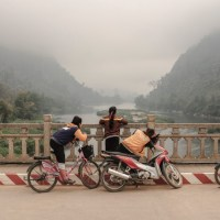 Laos- Luang Prabang Province -Nong Khiaw