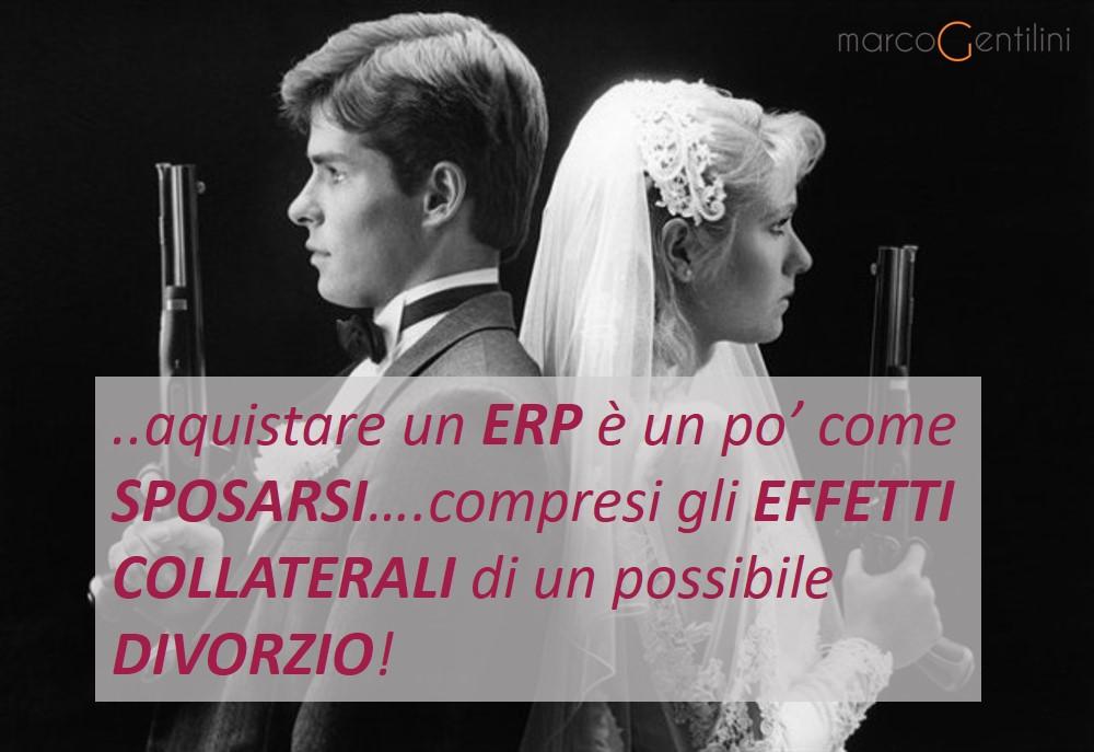 Scegliere un ERP è come SPOSARSI