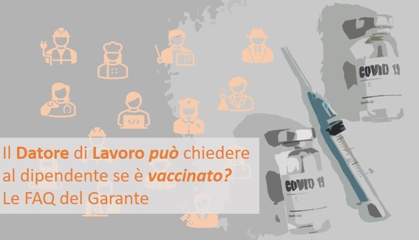 vaccino-covid-lavoro-faq-garante-privacy
