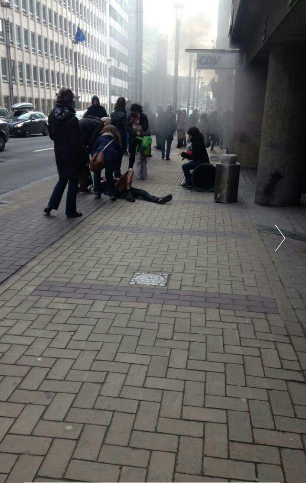 Le foto della strage di Bruxelles 22 marzo 2016  Marco Gregoretti