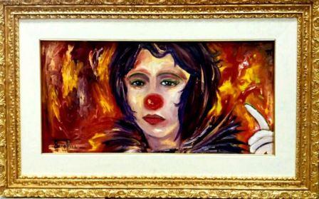 Antonella Bonaffini, il clown