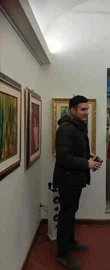 Critico d'arte Marco Grilli