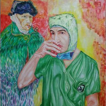 Samer Kassem, Arte e chirurgia