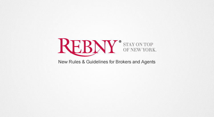 REBNY Proposed Advertising Guidelines