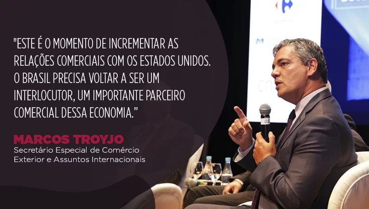 Marcos Troyjo: Government will promote Brazil's competitive insertion in global trade