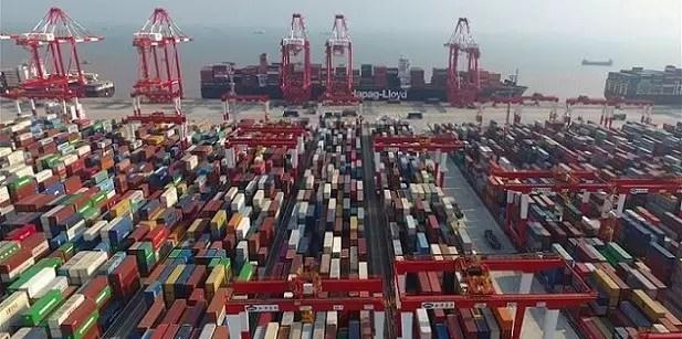 US$ 3,23 trilhões: este é o valor total do comércio exterior da China de janeiro a setembro