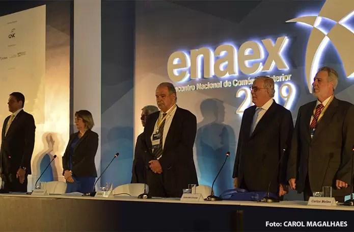 ENAEX 2019 discute propostas para aumentar a competitividade no comércio exterior brasileiro