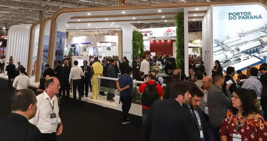 Company Ports of Paraná participates in logistics fair