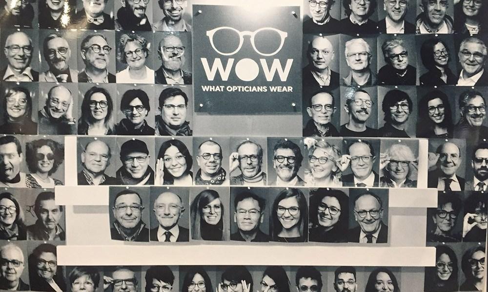 Oltre 100 gli ottici ritratti al MIDO per il progetto WOW.