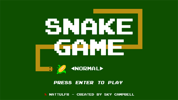 Snake in javascript.
