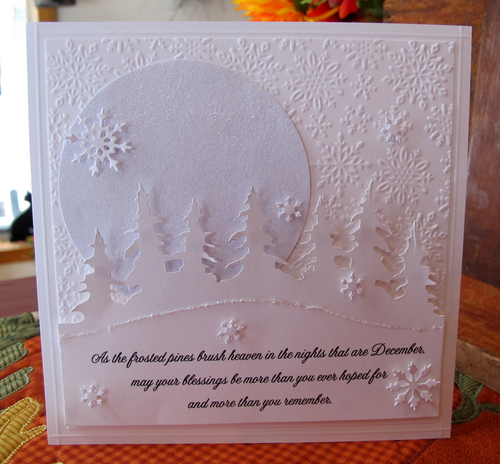 Tim Holtz Alterations On The Edge Dies Tree Line