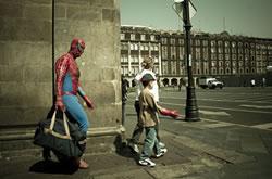 batman walking