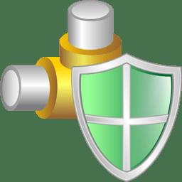 Secured network logo 256 pixels