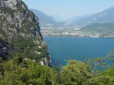 panorama da Pregasina sul lago di Garda