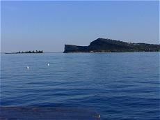 Pirlo al porto di San Felice del Benaco
