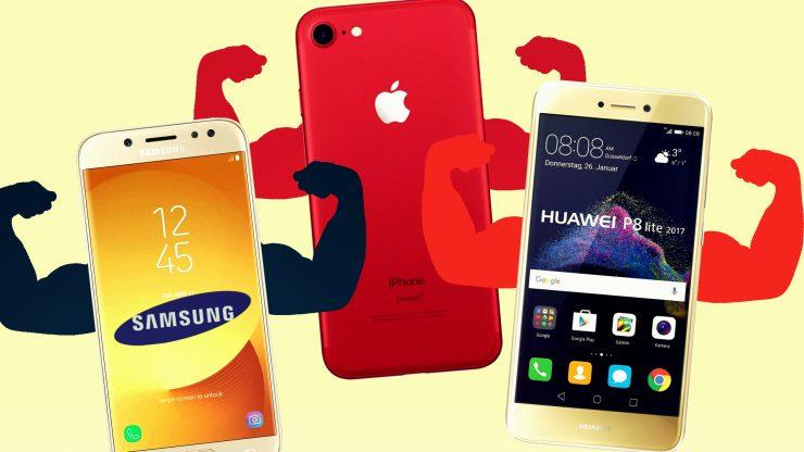 La tecnologia avanza… Apple vs. Samsung. E Huawei?
