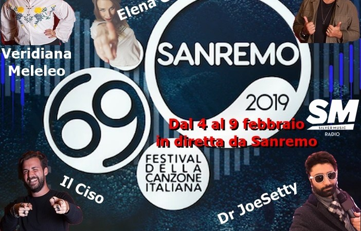 SMradio a Sanremo 2019