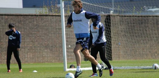 Marcos in training | Photograph courtesy of BWFC