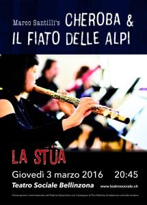 La Stüa Concert Flyer