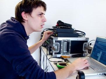 Niccolò Conte, sound engineer