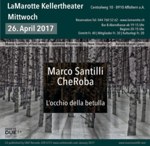 CheRoba at LaMarotte Kellertheater