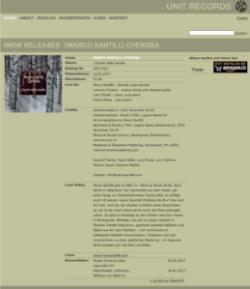 CD Release: Marco Santilli CheRoba