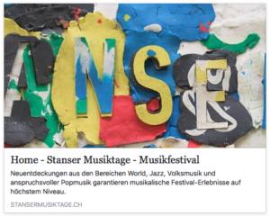 Stanser Musiktage 2017