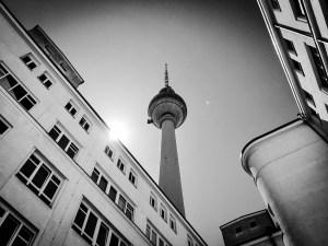 Berlin Fernsehturm Alexanderplatz Mai 2017