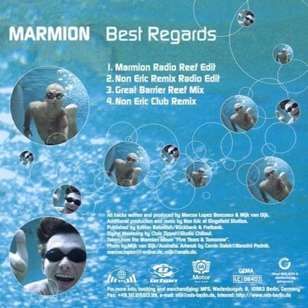 CD Single Marmion Best Regards 1996